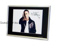 Автограф: Эминем / Eminem. Маршалл Брюс Мэтерс III